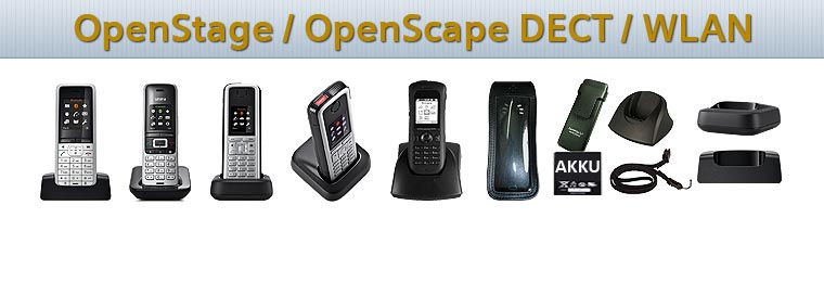 OpenStage SL4 & M3 Professional DECT phones